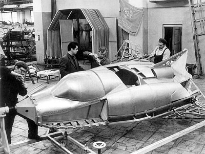 BOR-4, BOR-5, BOR-1, BOR-2, BOR-3, mock-up, orbital plane without pilot, russian soviet, USSR