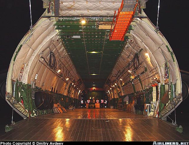 Antonov 225 mriya photos for Inside interieur
