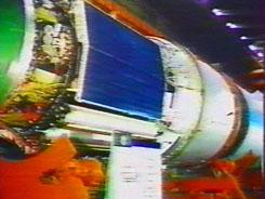 Polious, station orbitale, projet guerre des étoiles, MIR-2, URSS