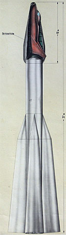 SPIRAL project, SPIRAL launcher, Spiral shuttle, supersonic launcher, orbital plane, orbital fighter plane, EPOC, EPOS, 105.11, 105.12, 105.13, soviet project, USSR, analogue plane